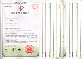 国家实用新型专利12项